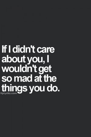 Exactly. He knew I didn't care when my ex husband cheated because I ...