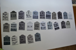 Tombstone Bunting