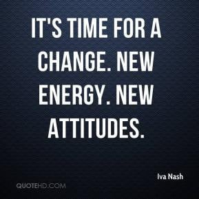 Its Time for Change Quotes