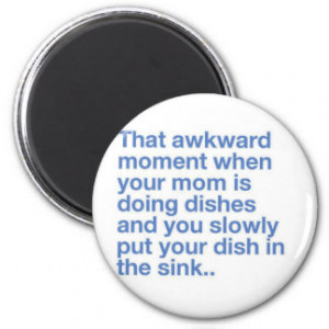 Funny Quote Products Refrigerator Magnet