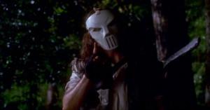 Elias Koteas was cast as the hockey mask-wearing vigilante, Casey ...