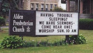 Hilarious Church Signs That Are Just Too Funny Not to Share