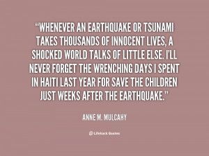 Quotes About Earthquakes
