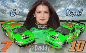 Danica Patrick Go Dani 16x10 Wallpaper