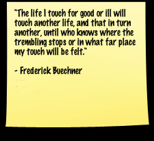 Frederick Buechner Quote