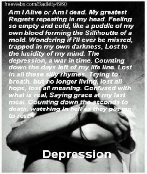Depression Poems and Quotes | World of Poetry!!: June 2009 # ...