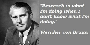 Wernher von braun famous quotes 4