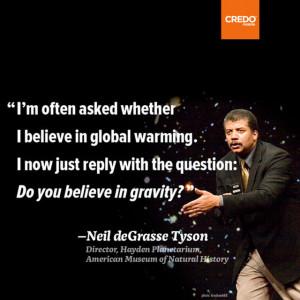 Neil deGrasse Tyson on Global Warming