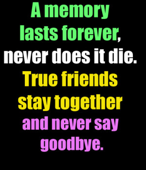 Goodbye My Friend Quotes