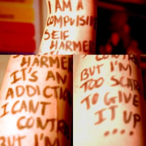 ... project not only for myself but anyone else there who self harms