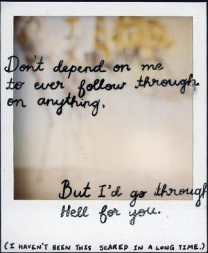 blink 182, inspiration, love, polaroid, quotes, word
