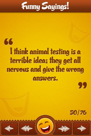 Funny Sayings!