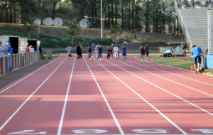 Track Quotes For Sprinters 100 meter sprinters getting