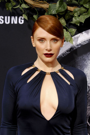 Bryce Dallas Howard At Jurassic World Premiere Celebzz