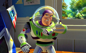 Buzz Lightyear in the film Toy Story Photo: Pixar