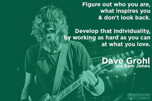 If you need a little more of Dave's wisdom, check out his SXSW keynote ...