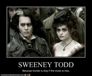 Little Less Morbid Version of Sweeney Todd photo
