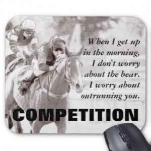 Everything between us becomes a competition mouse pads