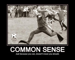 Common Sense, Is It That Common?