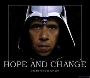 Obama 2012 – May The Farce Be With You