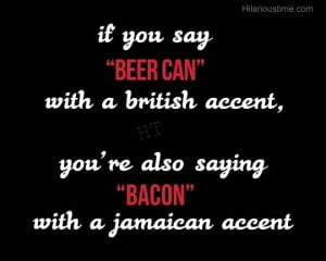 funny beer and bacon quotes