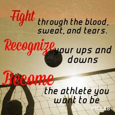 Volleyball Hitter Quotes My quote i used when first