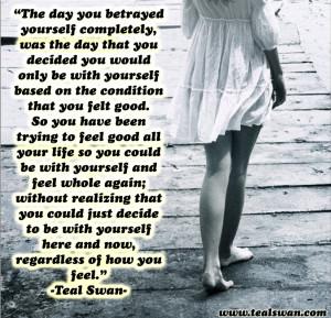 Betrayal Quotes Self betrayal quote
