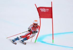 Marie Michele Gagnon Marie Michele Gagnon of Canada makes a run during