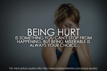 Quotes About Being Hurt Life