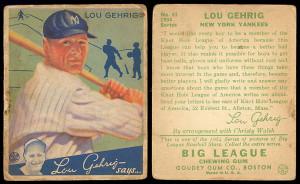 Lou Gehrig Quotes Baseball Almanac
