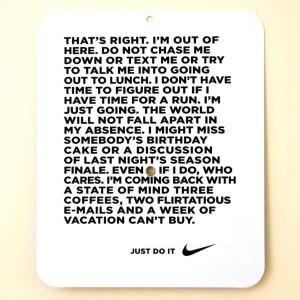 Nike Gone Running- 08.30.07