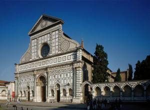 Saint Maria Novella Leon Battista Alberti Florence Italy 1458 70 Early ...