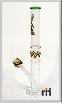 Pipe Glass Bong Smoking Set...