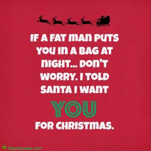 MORE FUNNY CHRISTMAS SAYINGS: