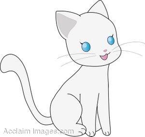 Kitten Thank You Cat Clip Art