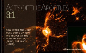 Bible Verse Acts of the Apostles 2:37. Hubble Image: Supernova Remnant ...