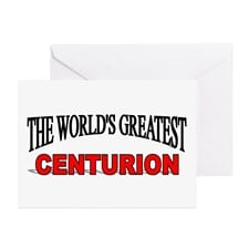 The World 39 s Greatest Centurion quot Greeting Card for