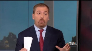 ... in somebody to quote unquote, 'Fix this.' Chuck Todd, folks, MSNBC