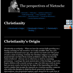 Nietzsche Quotes: Christianity