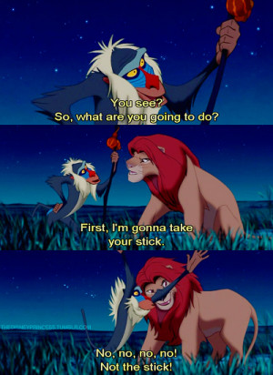 lion king quotes rafiki
