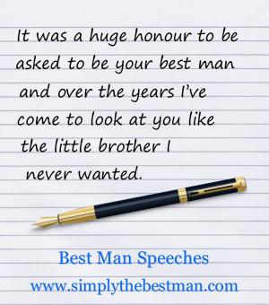 Funny Best Man Wedding Toast Quotes ~ Best Wedding Speech Examples ...