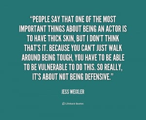 Quotes About People Being Defensive