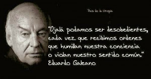 Eduardo Galeano calou-se
