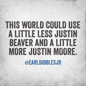 Justin Moore > Justin Beaver