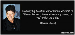 Charlie Sheen crazy quotes decoded