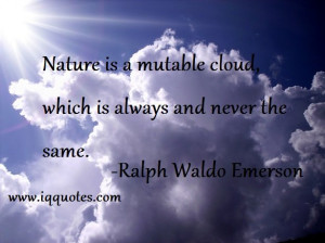 Cloud Quotes and Sayings