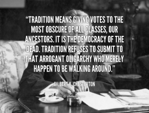 Quotes About Family Traditions
