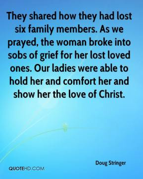 lost family member quotes