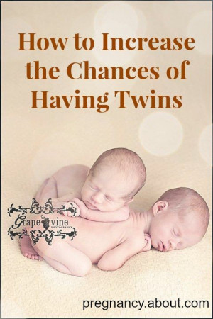 So many people want to have twins. These tricks supposedly up that ...