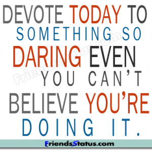 daring fb status quotes image